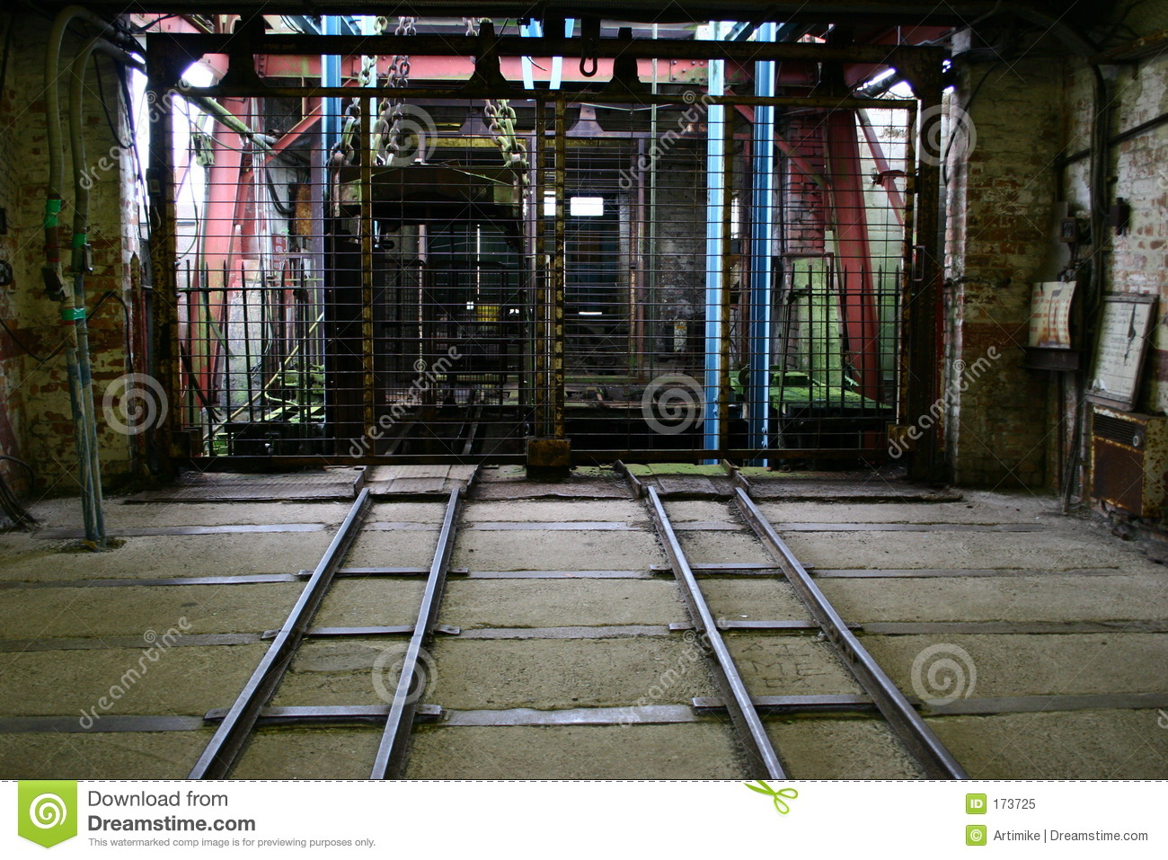 Entrance to Old Lift Shaft