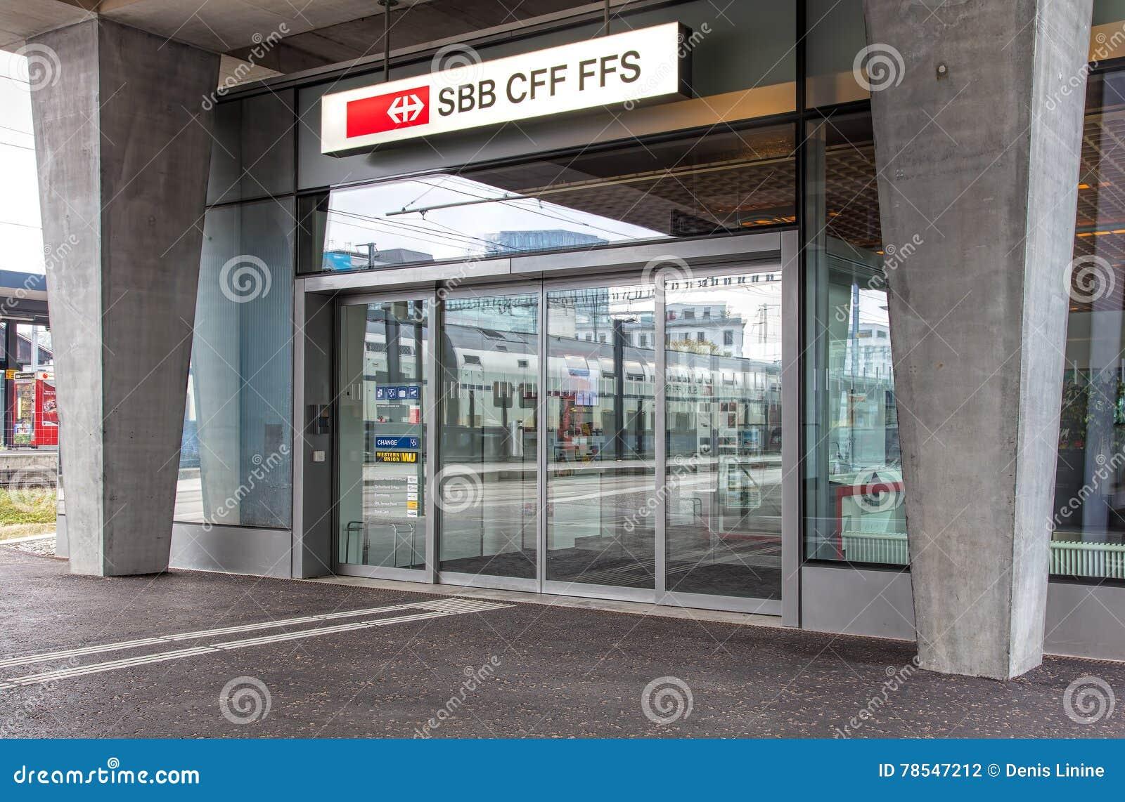Ufficio Di Entrata : Entrata all ufficio federale svizzero delle ferrovie in