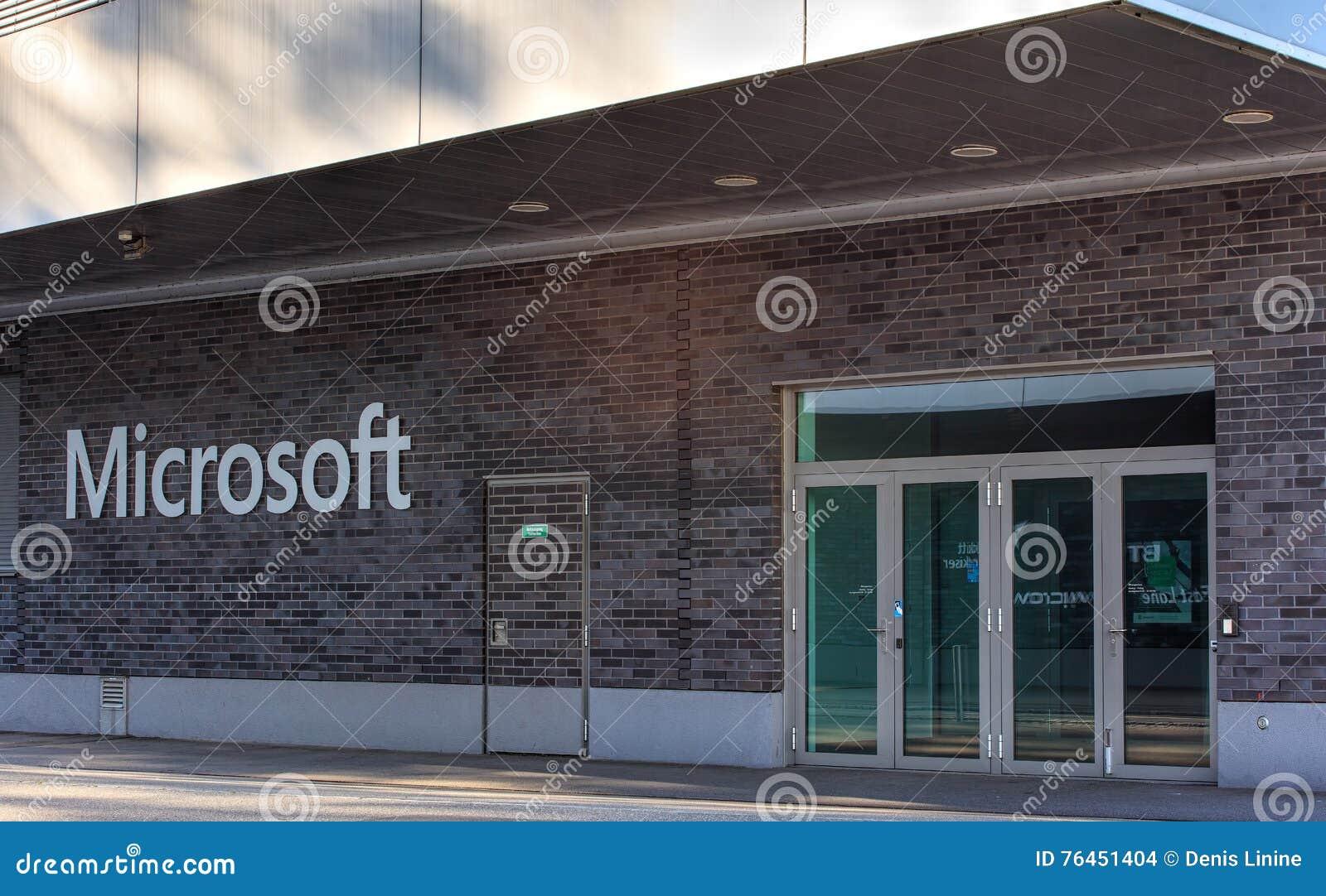 Ufficio Di Entrata : Entrata all ufficio svizzera ag di microsoft immagine stock