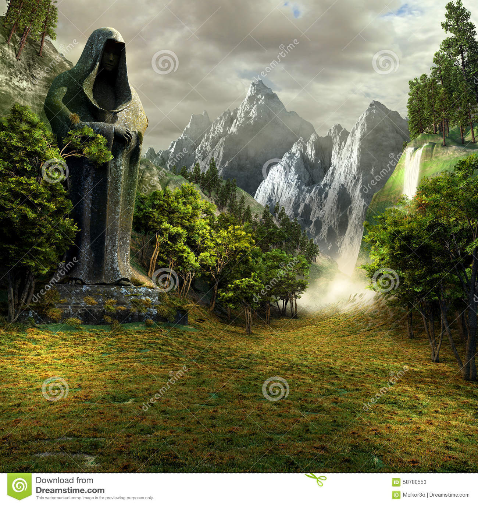 Entrata alla valle magica