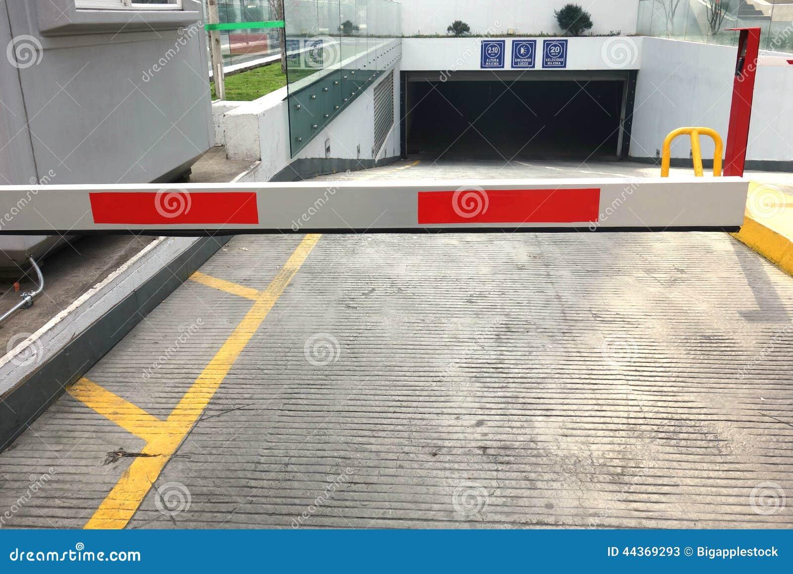 Entrata del garage