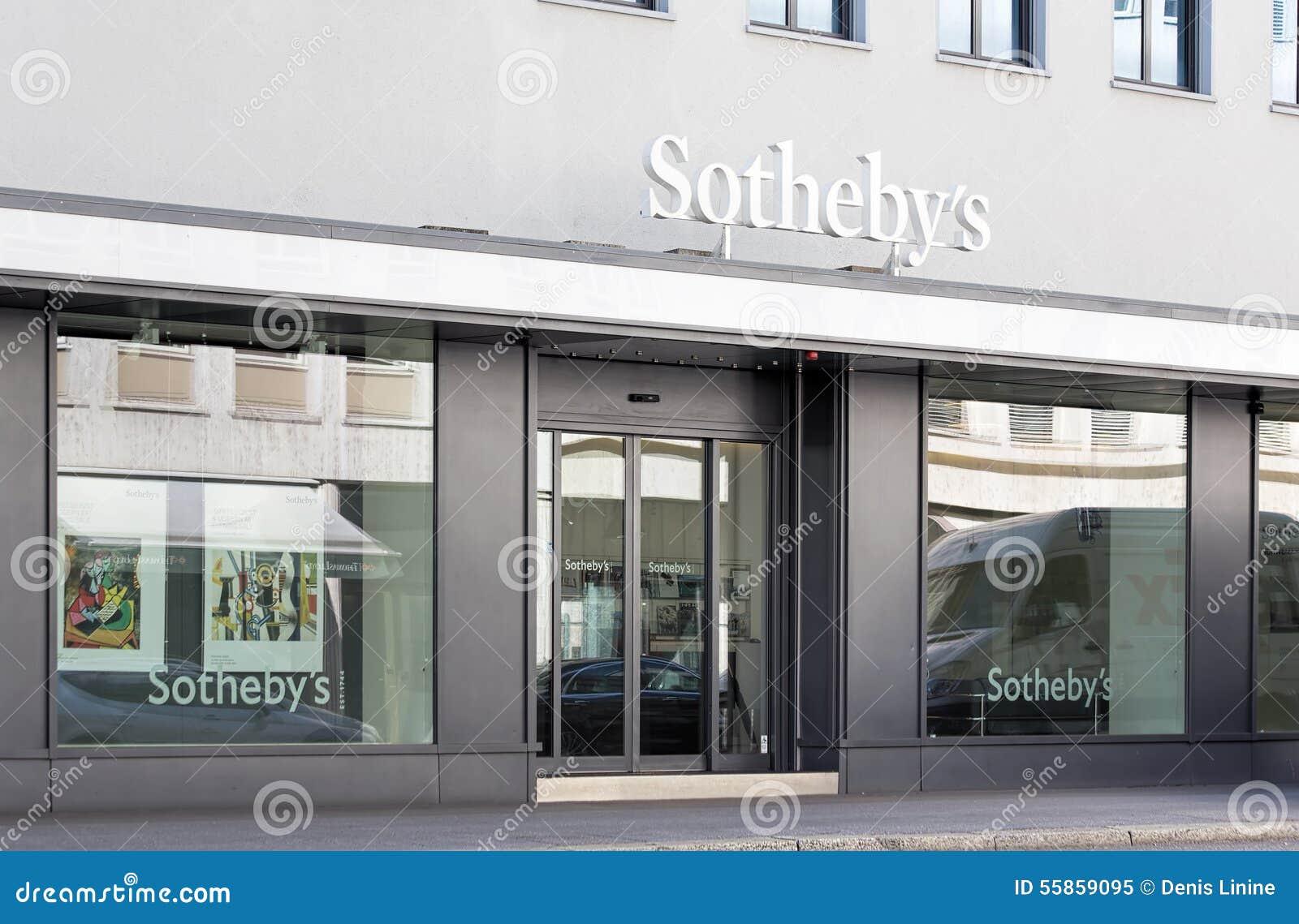 Ufficio Di Entrata : Entrata dell ufficio di sotheby a zurigo immagine editoriale