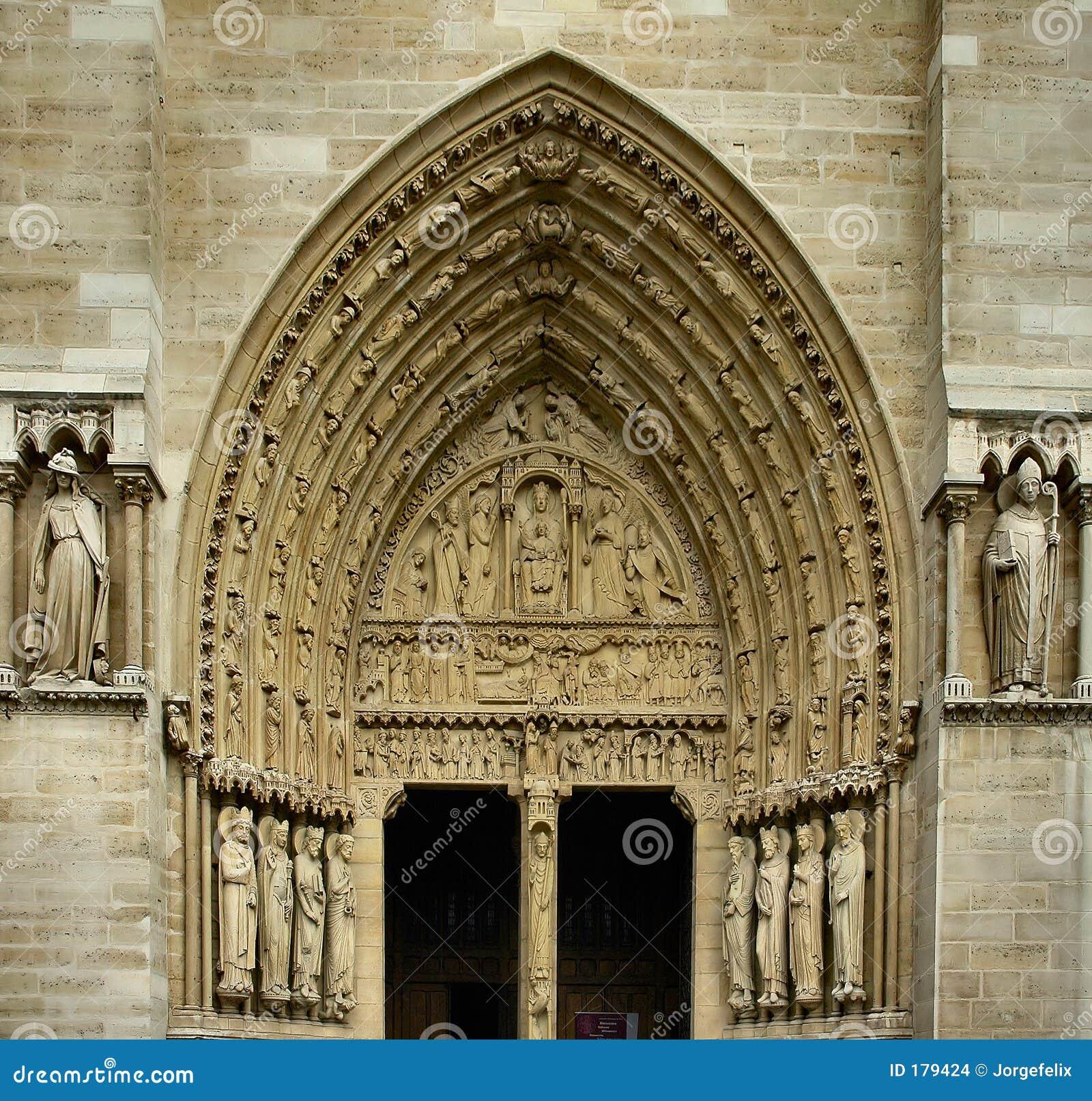 Entrata della chiesa