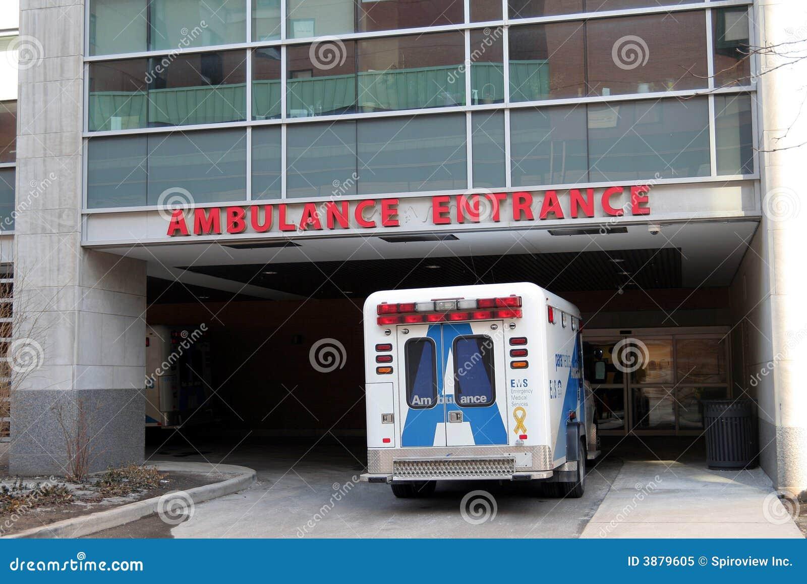 Entrata di emergenza dell ospedale