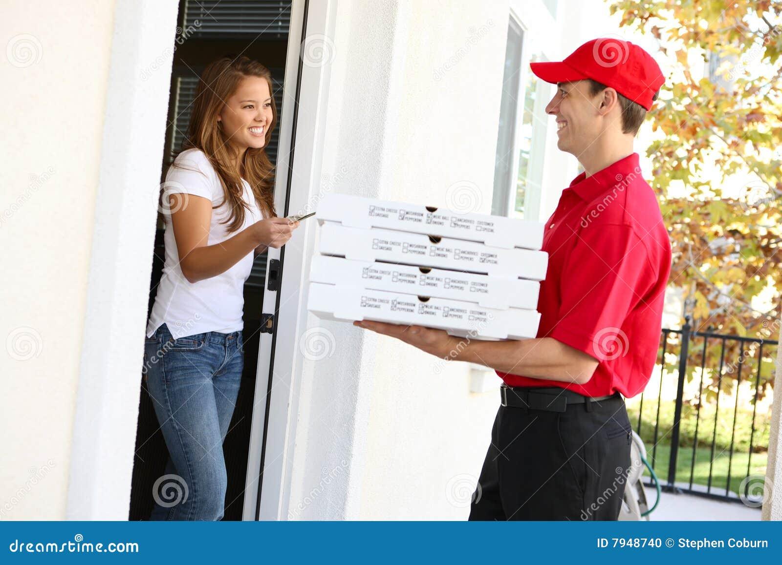Hermosa Entrega De Pizza Motivo - Colección De Plantillas De ...