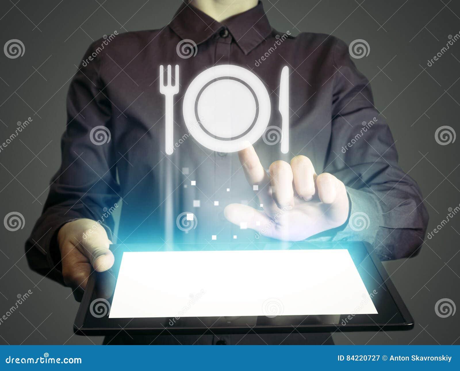 Entrega de la comida