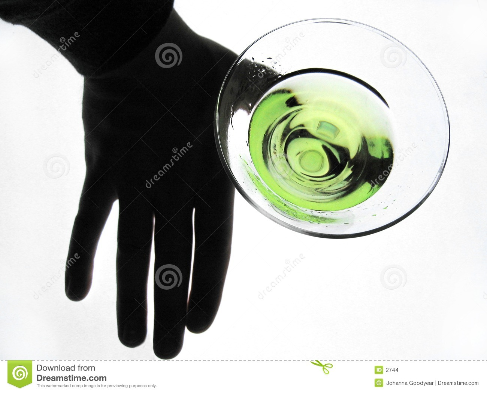 Entregue o vidro da terra arrendada de Martini
