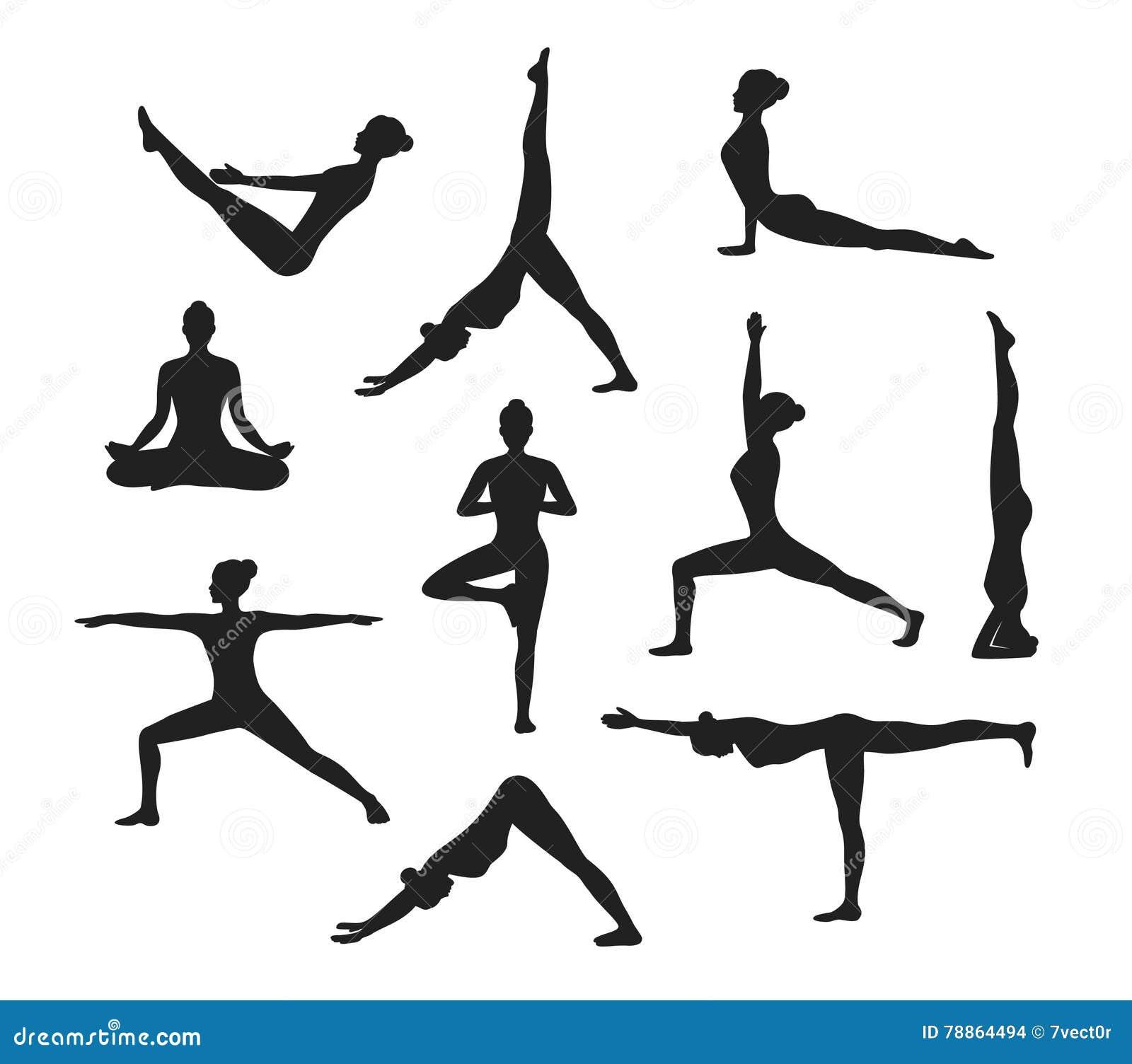 Yoga Asanas Images
