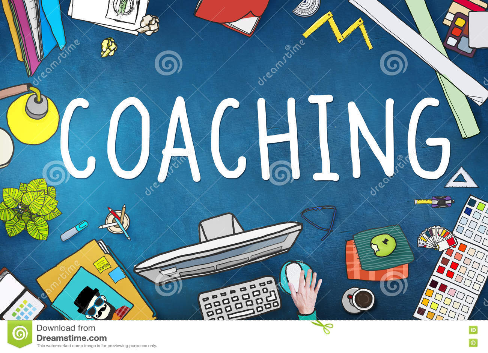 Entrenar al coche de enseñanza Concept del mentor del entrenamiento