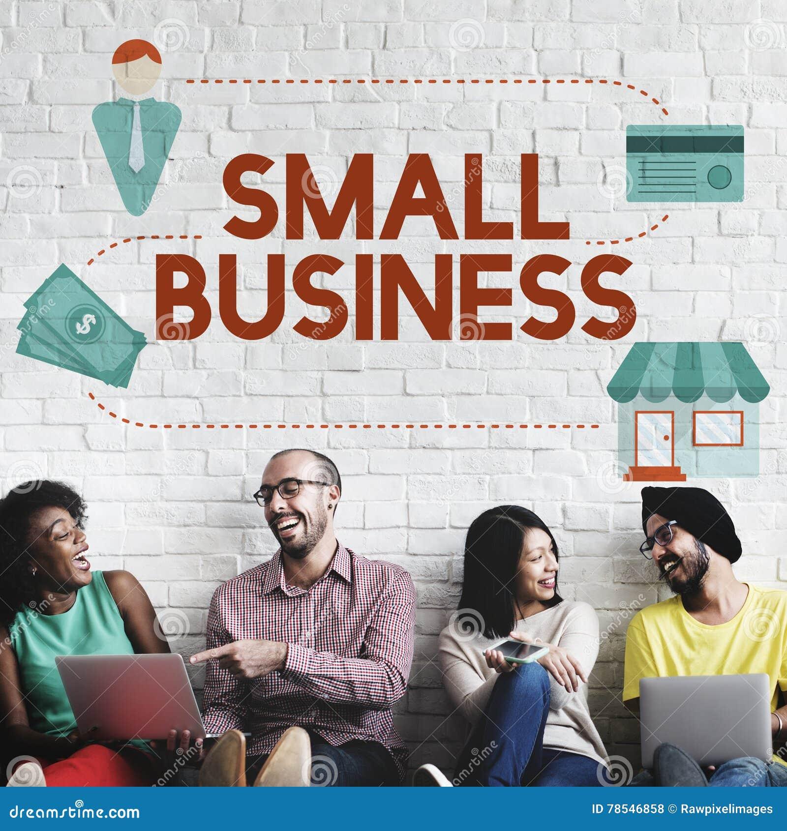 Entreprenör Conc för äganderätt för produkter för små och medelstora företagnischmarknad