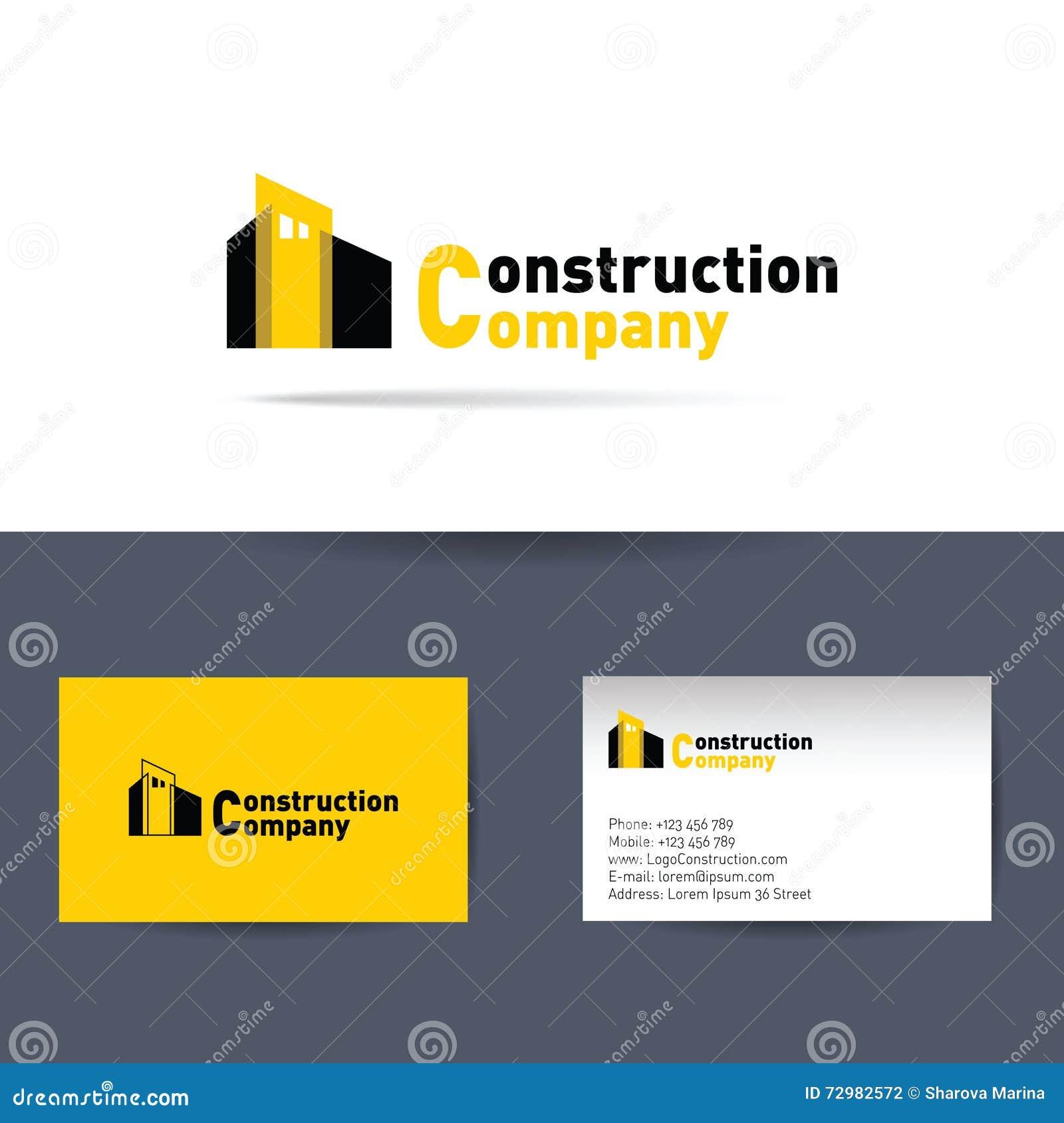 Entreprise de construction carte de visite professionnelle for Carte visite construction