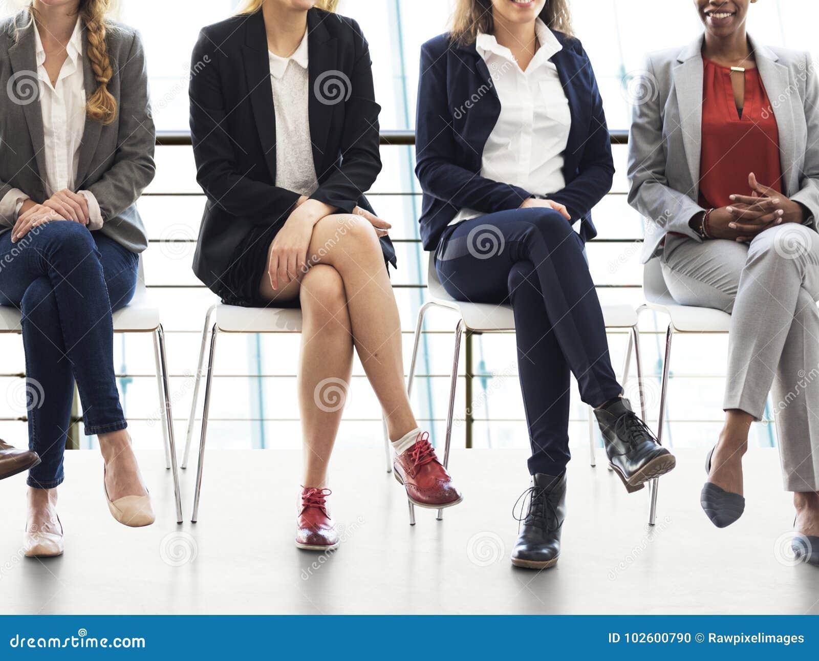Entrevista de trabajo para los hombres de negocios