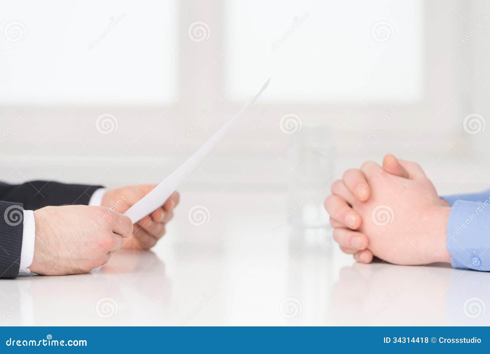 Entrevue.