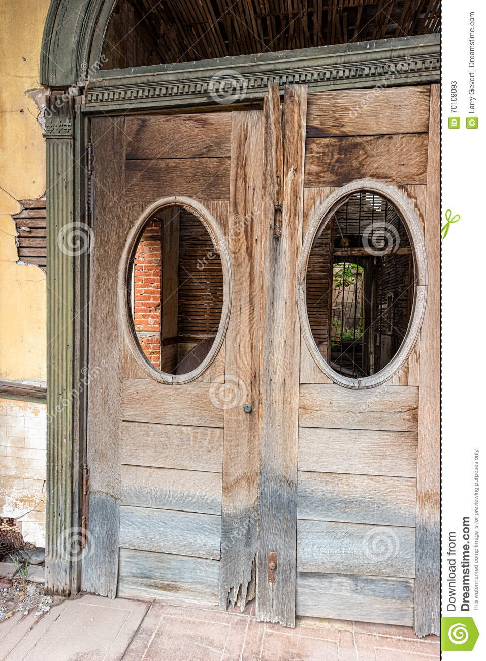 Entry Doors Historic Commercial Building Stock Image Image Of
