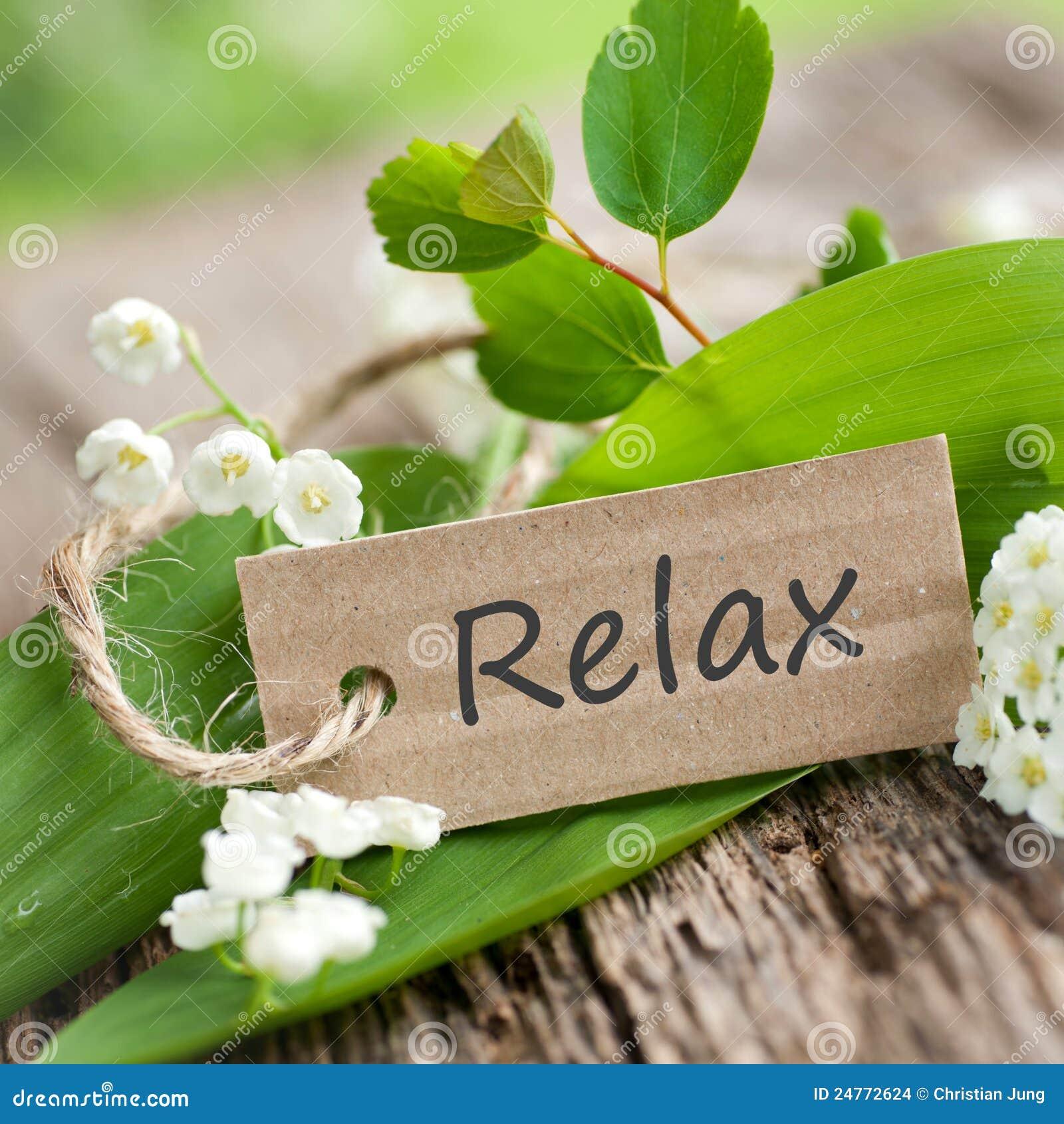 Entspannen Sie sich