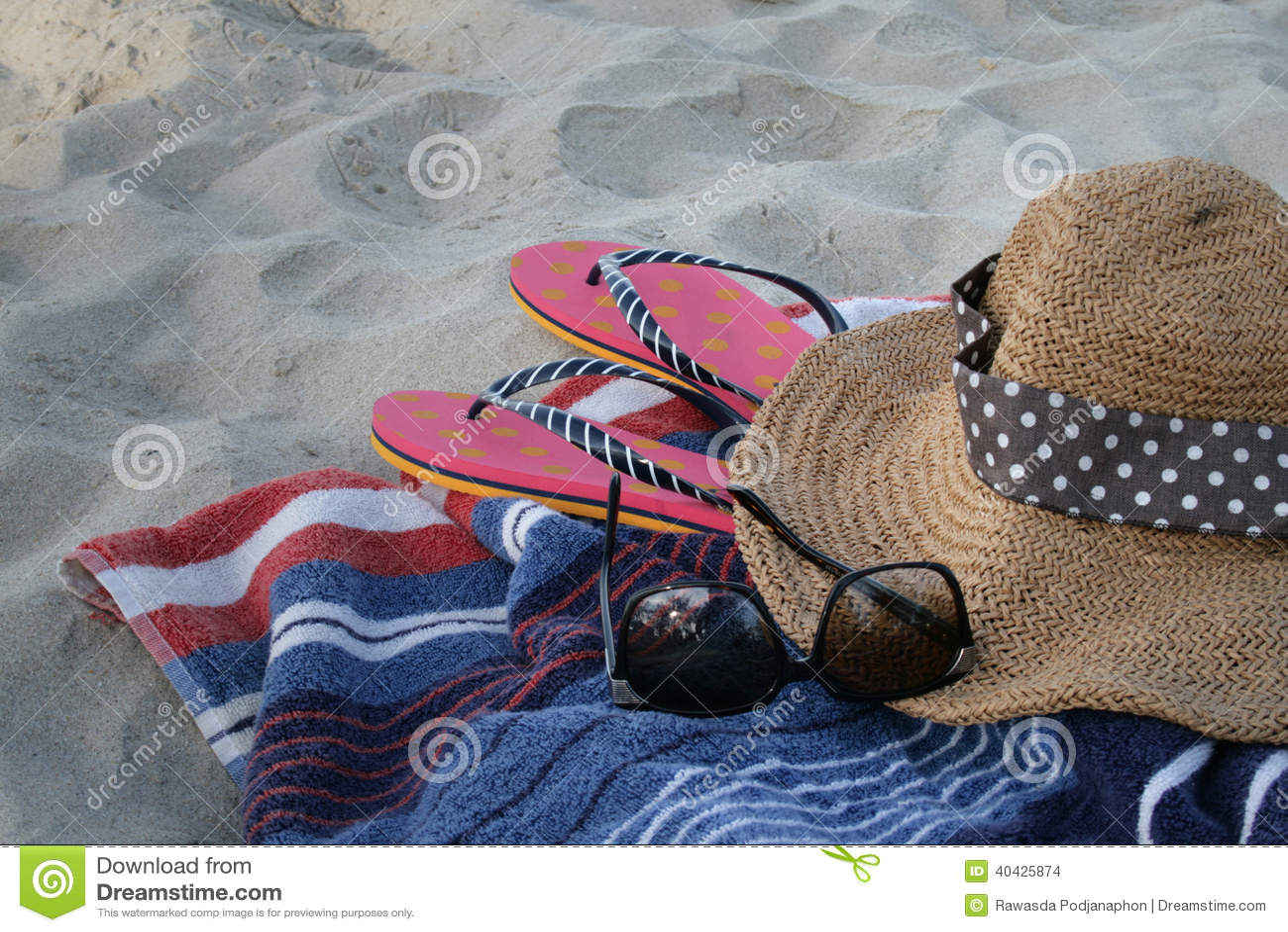 Entspannen Sie sich auf dem Strand