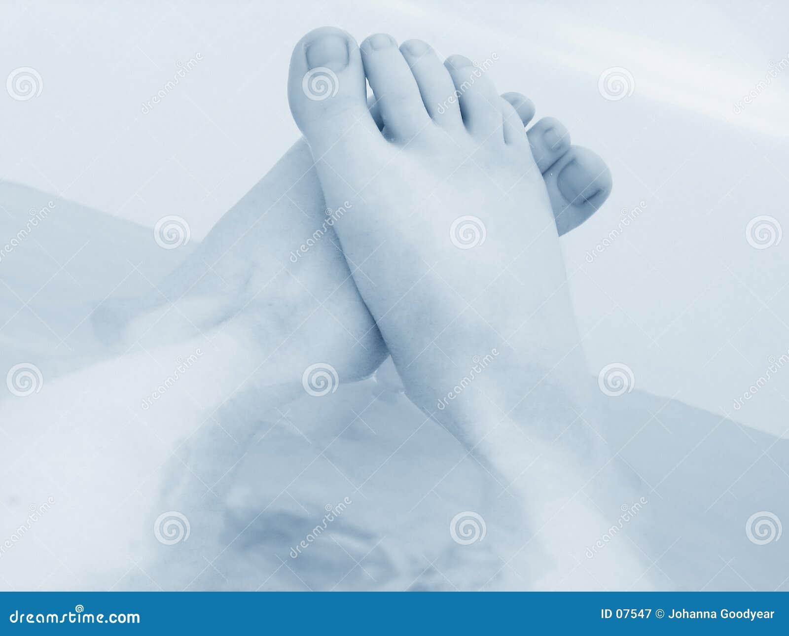 Entspannende Füße