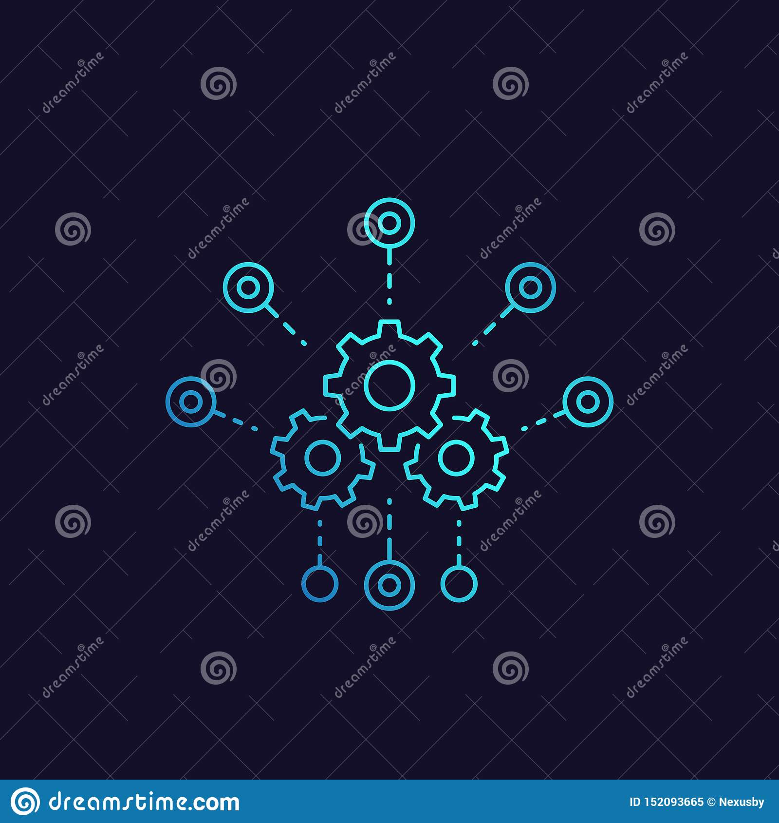 Entwicklung, Software-Integrationsvektorikone