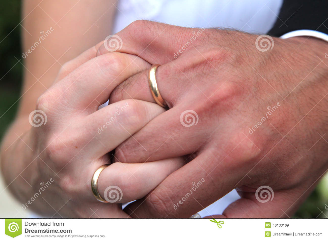 Entwined Hands Honeymooners Stock Image - Image of partner, hold ...