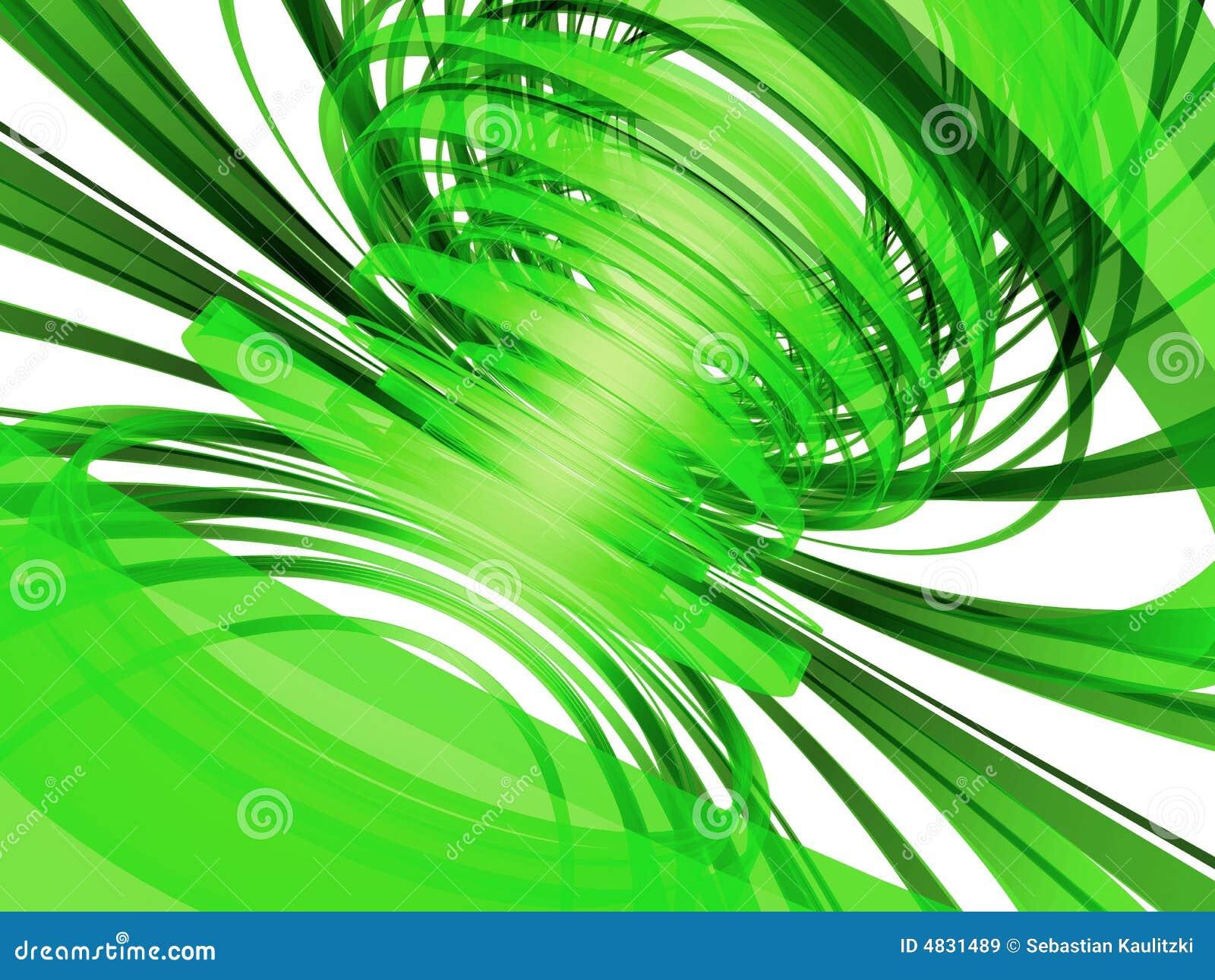 Entziehen Sie grüne Zeilen