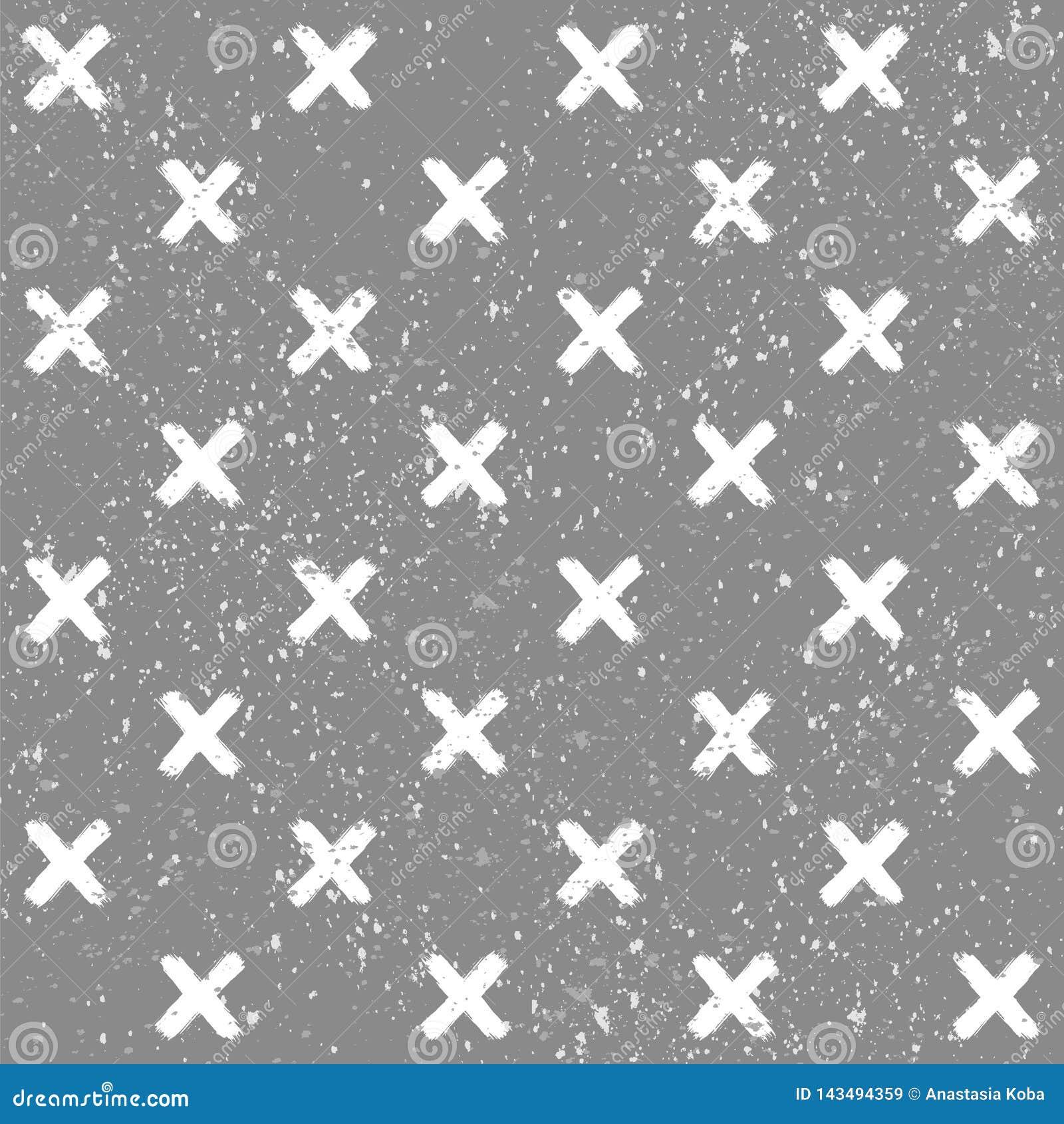 Entziehen Sie Hintergrund Geometrisches Muster Grunge Beschaffenheit Vektortapete