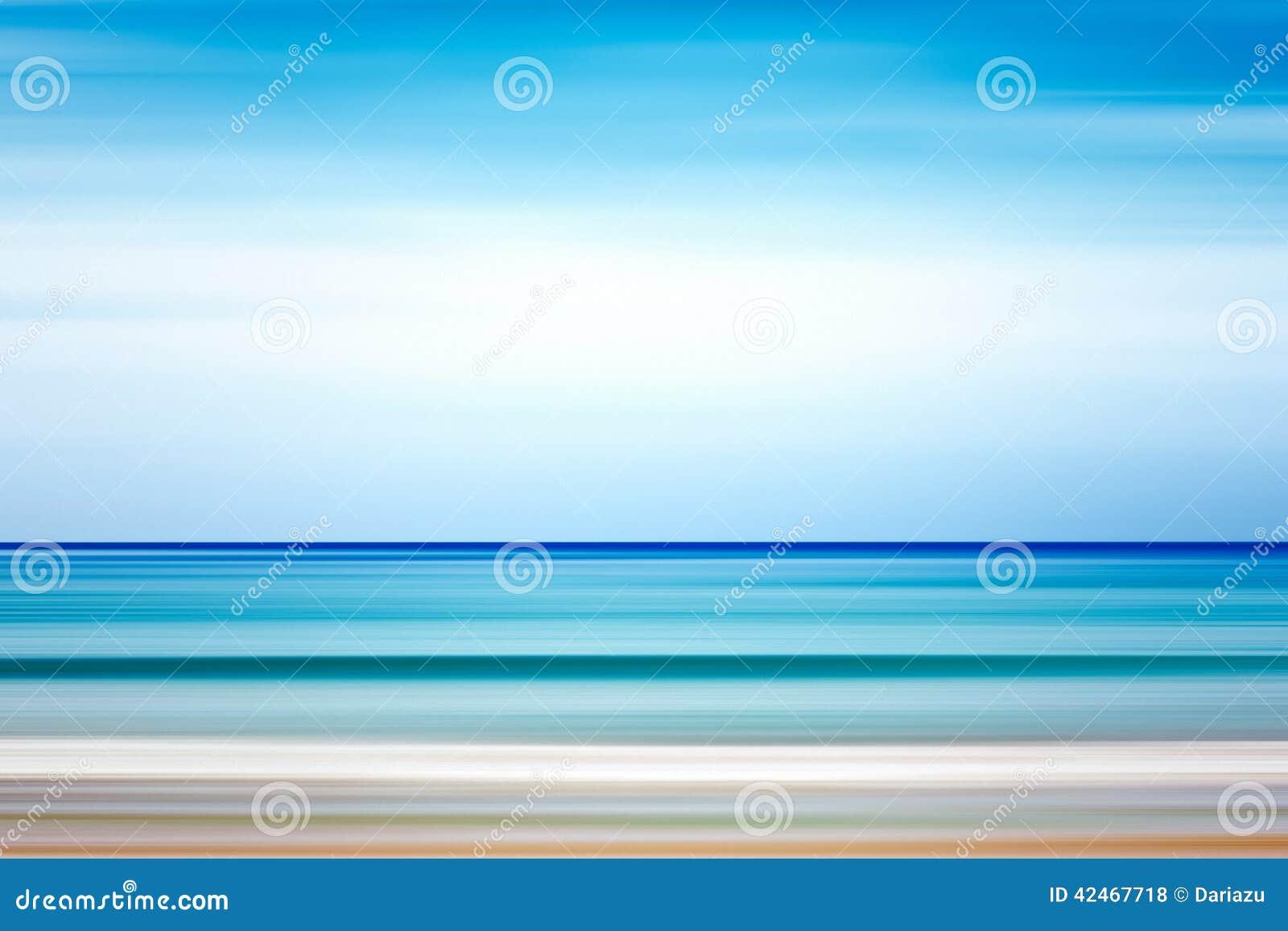 Entziehen Sie Hintergrund Meer und Küstenlinie
