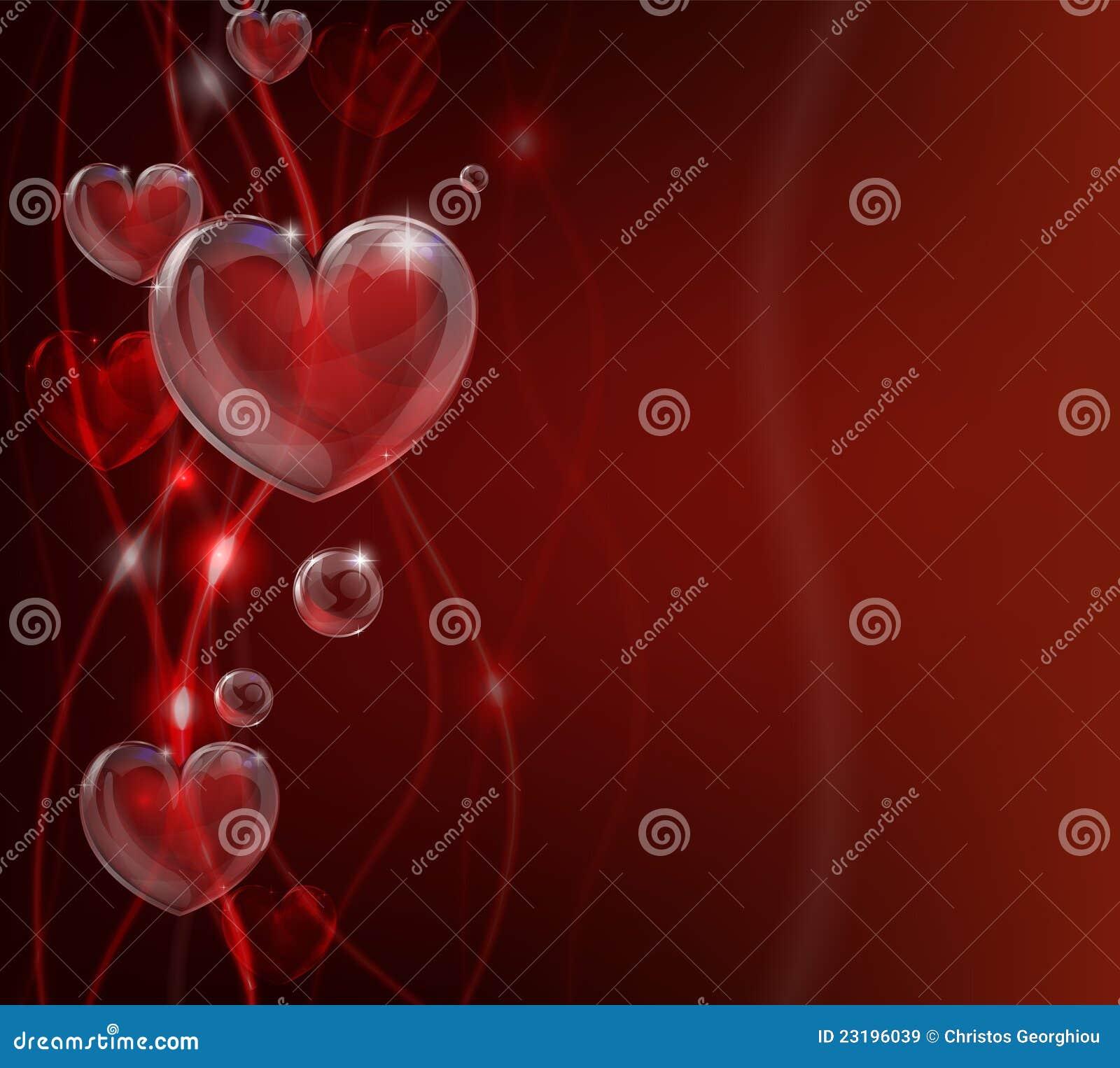 Entziehen Sie Valentinsgrußtagesinnerhintergrund