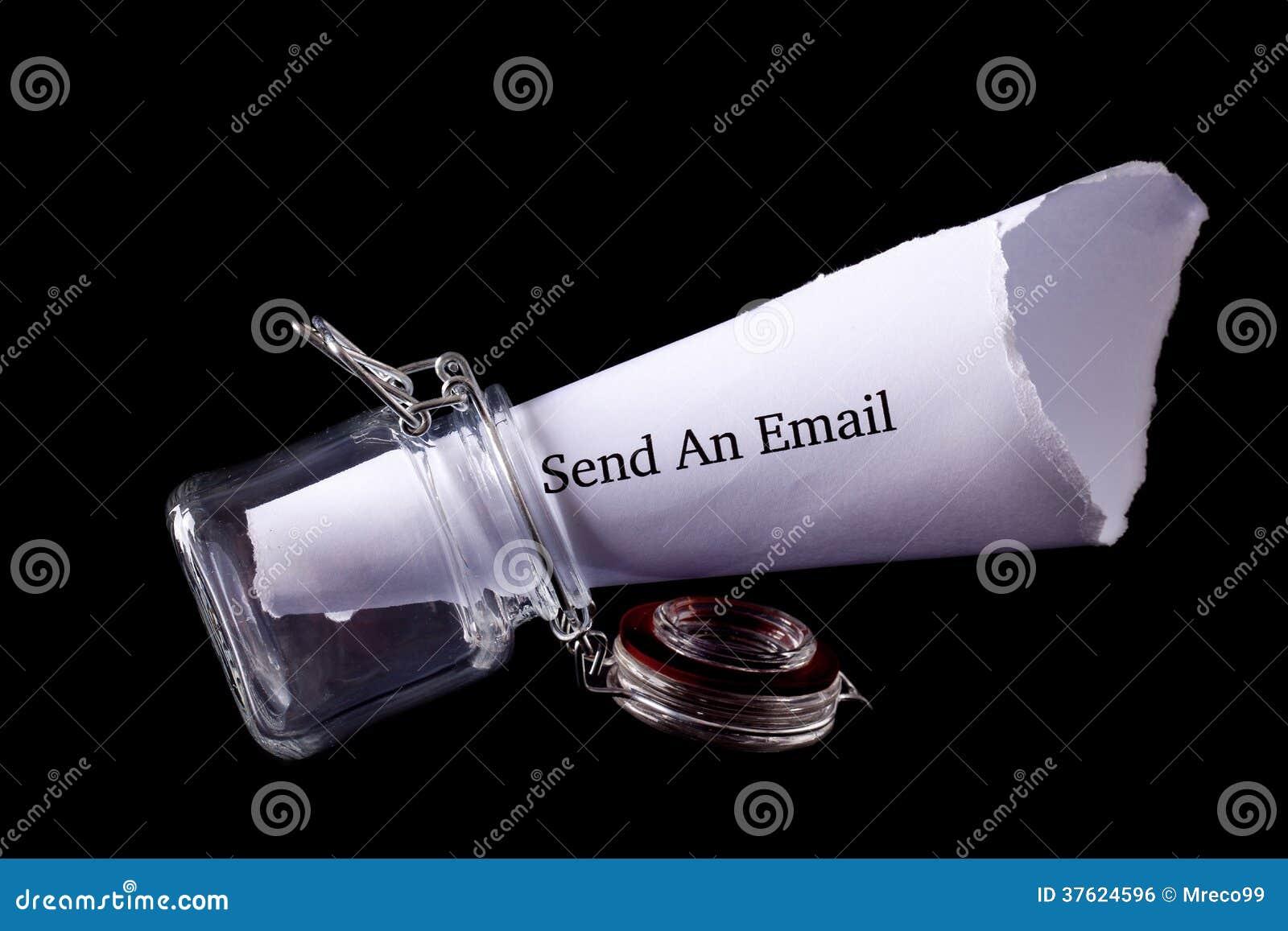 Envíe la nota del correo electrónico