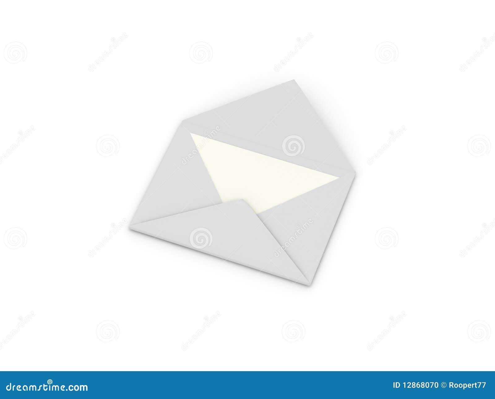 Envelop met brief