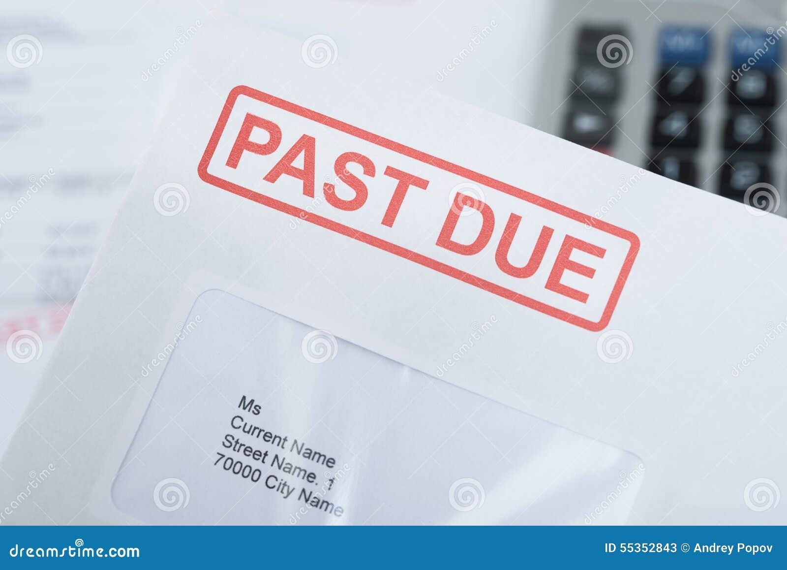 Envelop over tijd