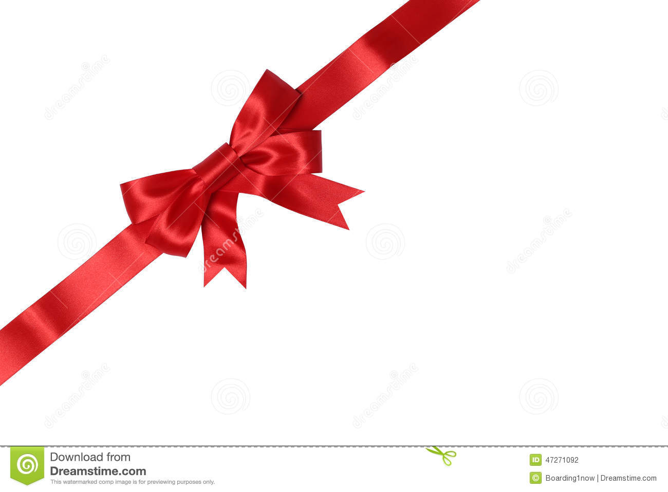 Envelope Or Card On Gift With Bow For Gifts On Christmas