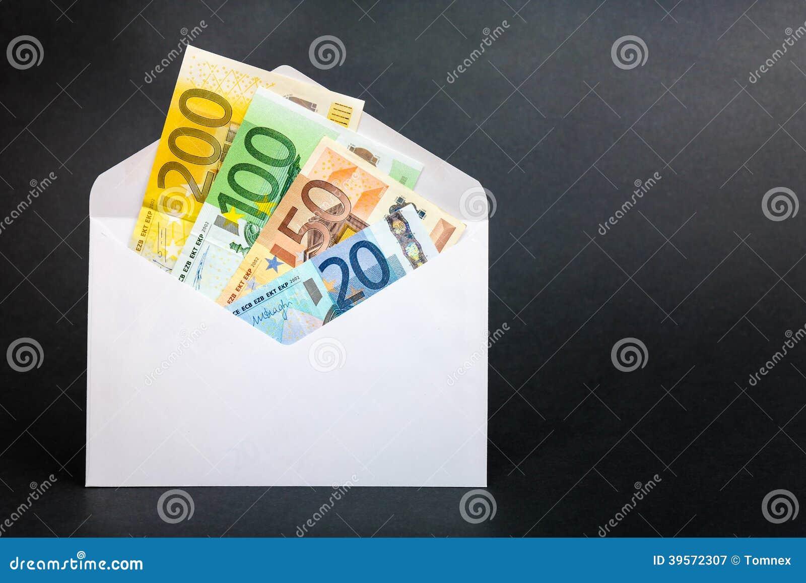 Envelope do dinheiro