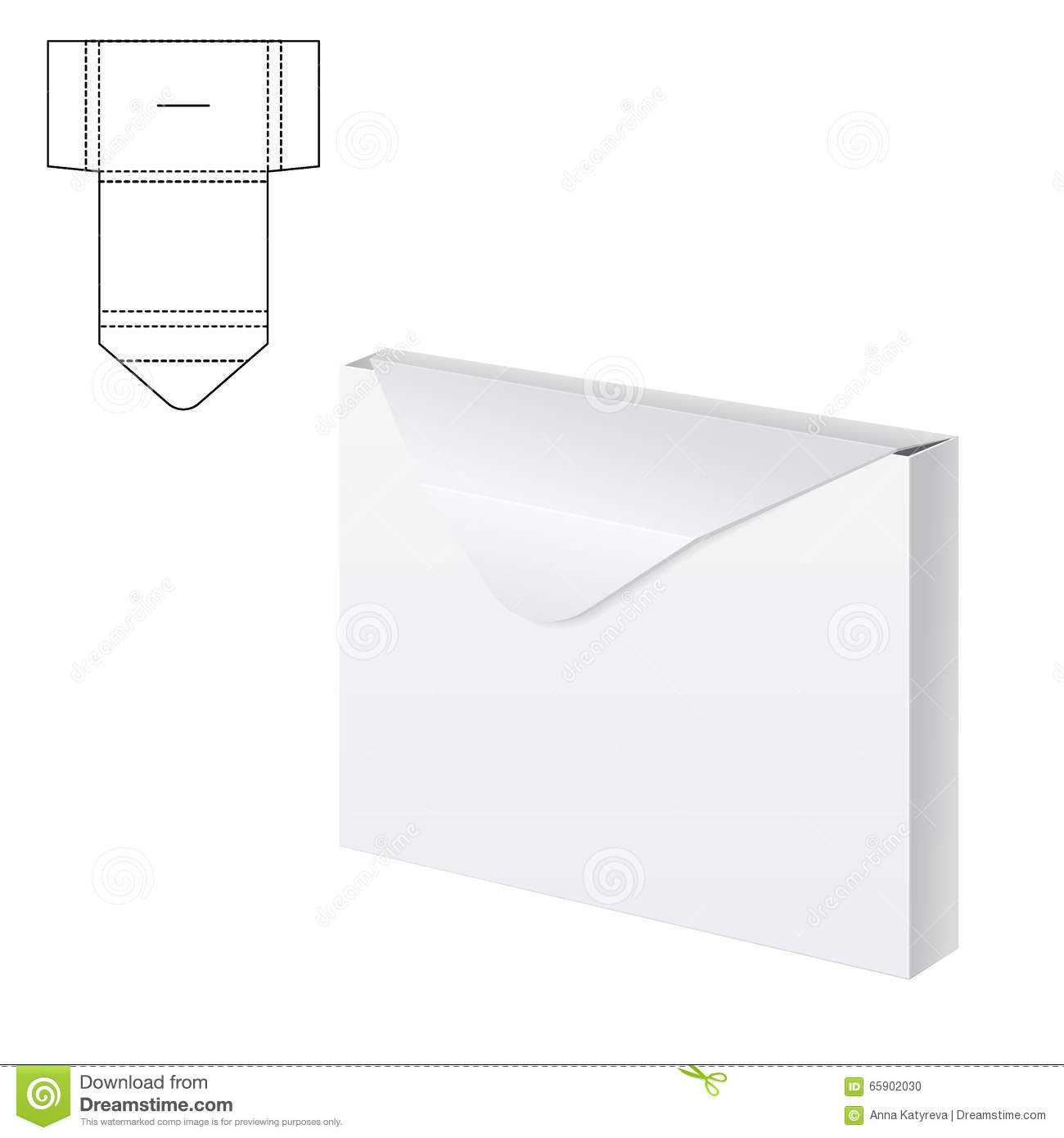 Envelope paper or craft box a stock vector illustration of envelope paper or craft box a jeuxipadfo Gallery