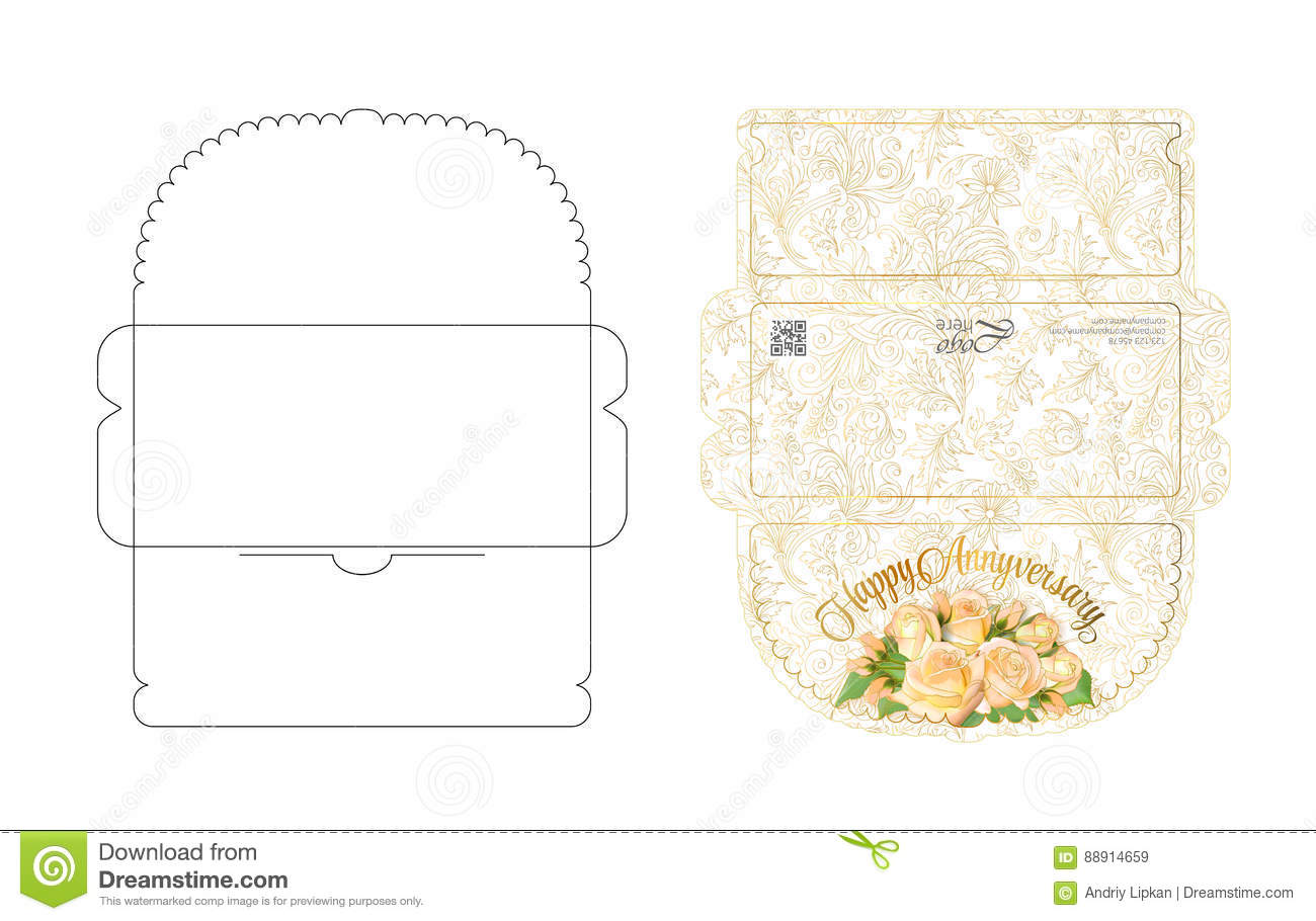Template To Print On Envelope from thumbs.dreamstime.com