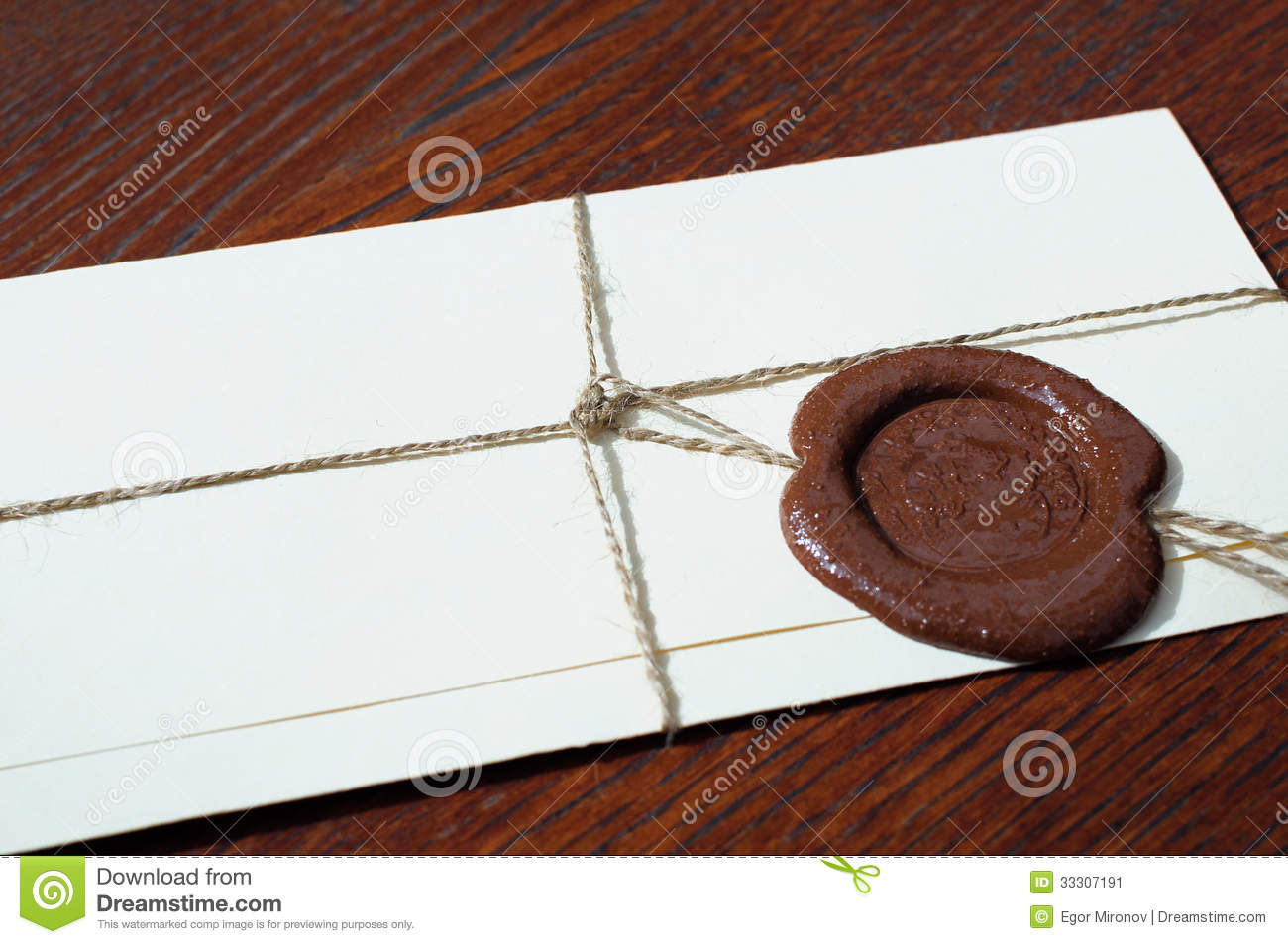 Envelope With A Wax Seal On A Wooden Table Stock Image Image . Full resolution  photo, nominally Width 1300 Height 953 pixels, photo with #87AC1F.