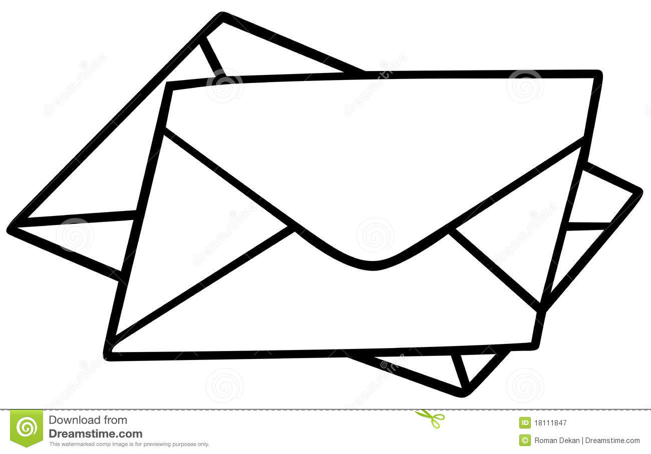 envelopes stock vector illustration of isolated