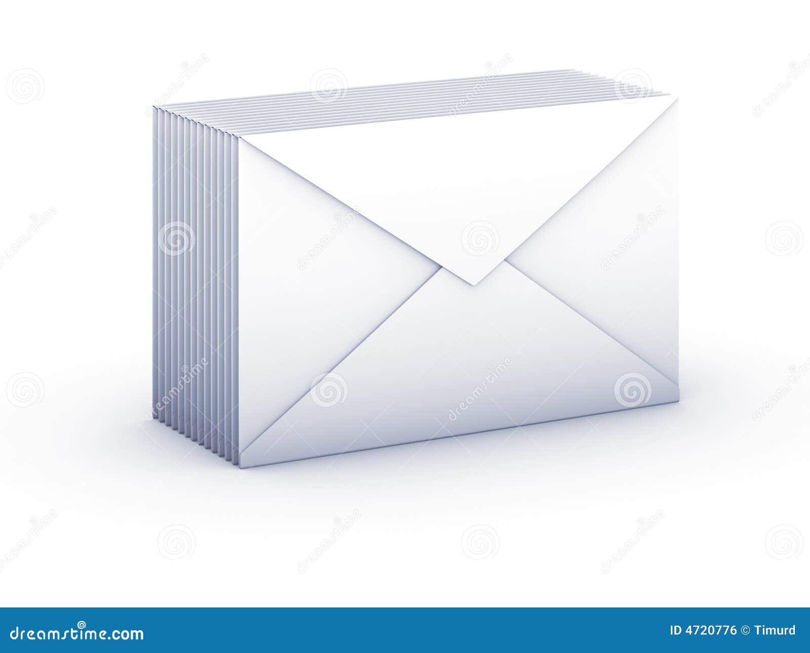 Envelopes do bloco