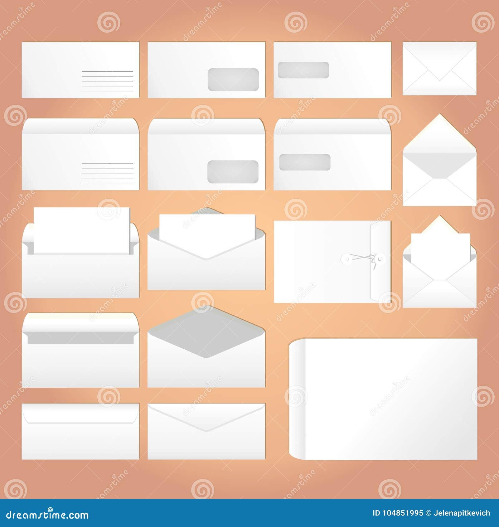 Envelopes para letras