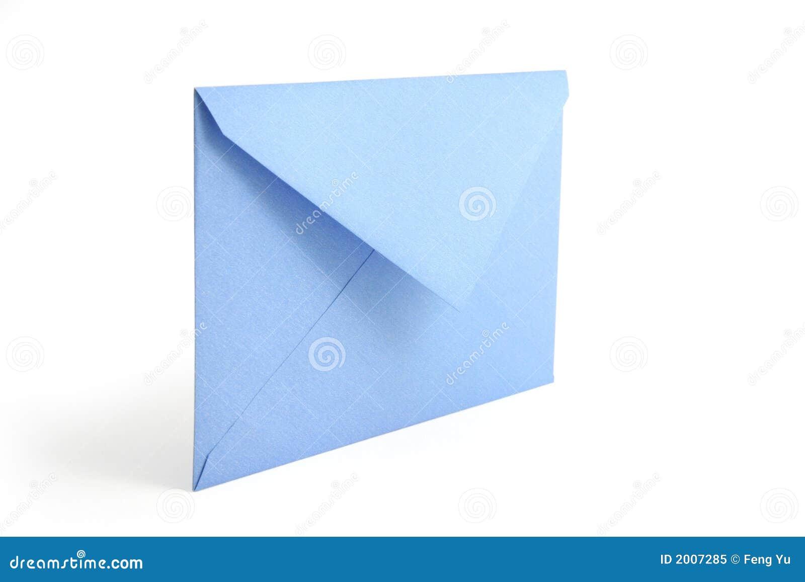 enveloppe bleue image stock image du mailbox information 2007285. Black Bedroom Furniture Sets. Home Design Ideas