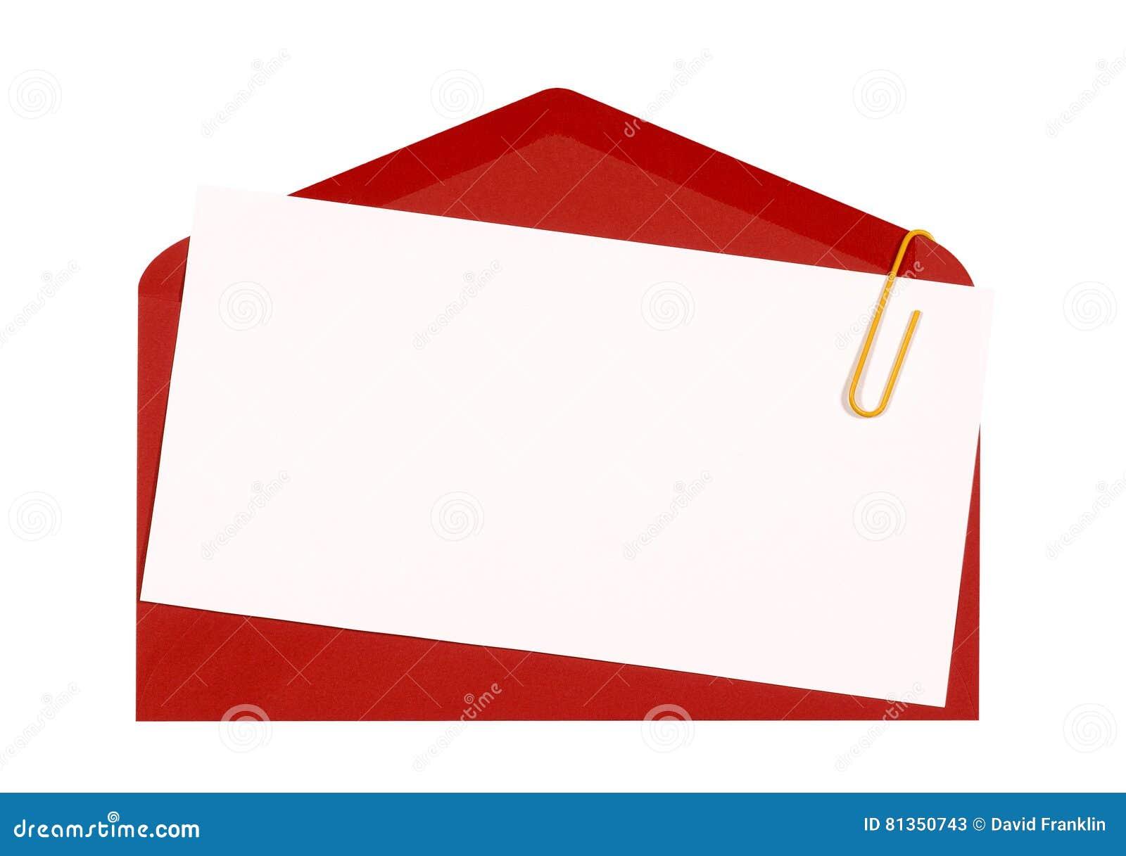 Assez Enveloppe Rouge Avec L'invitation D'anniversaire Ou La Carte De  OU47