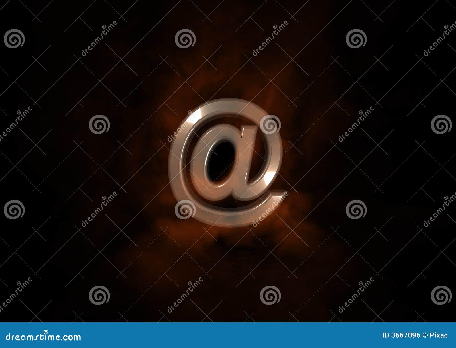Envie por correio electrónico o símbolo