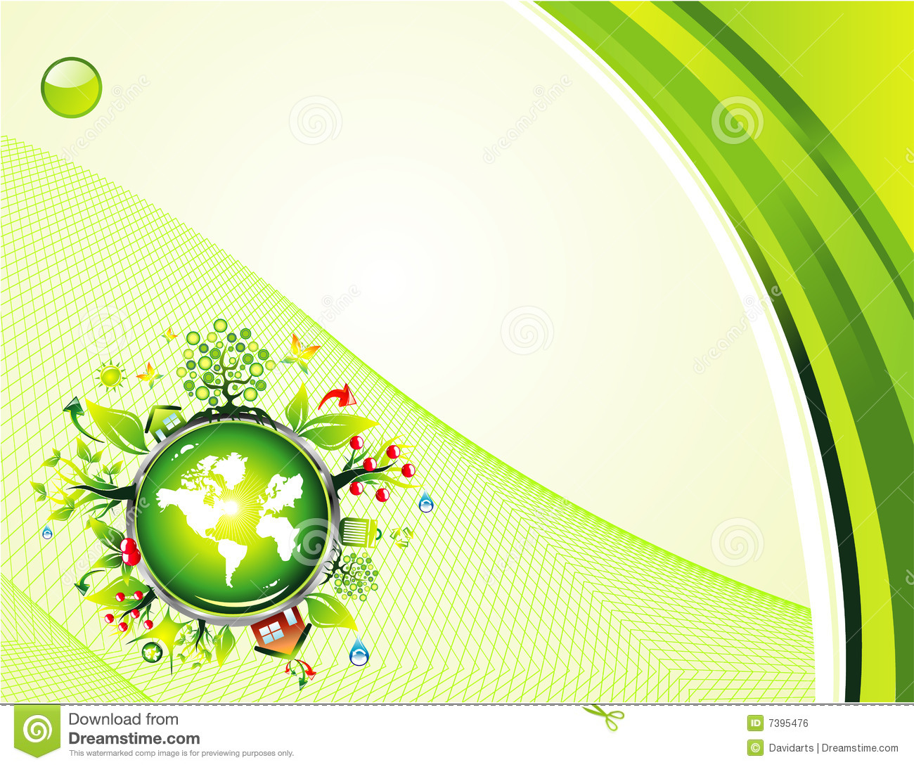 Environment Green Background Royalty Free Stock Image