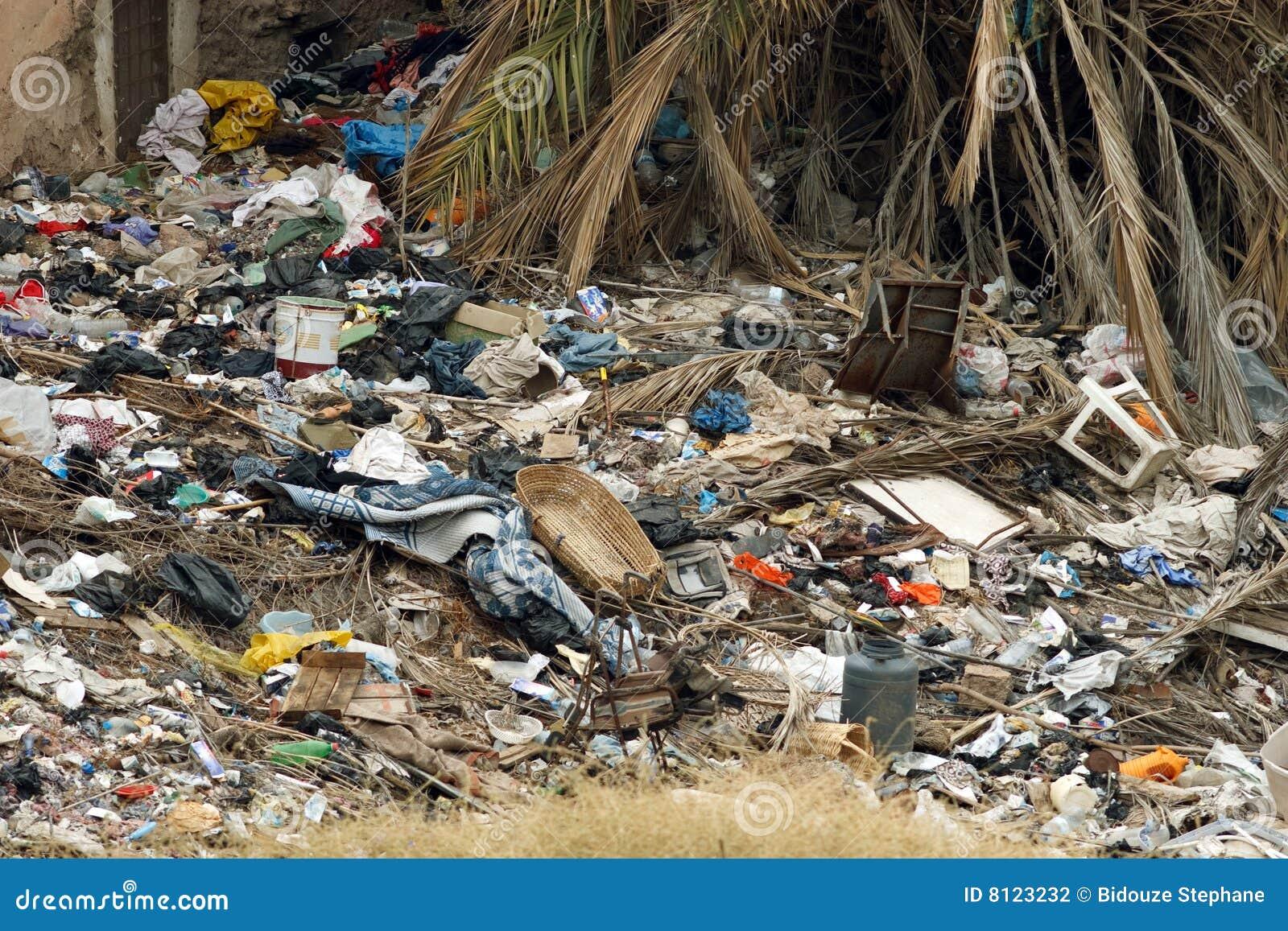 dirty environment
