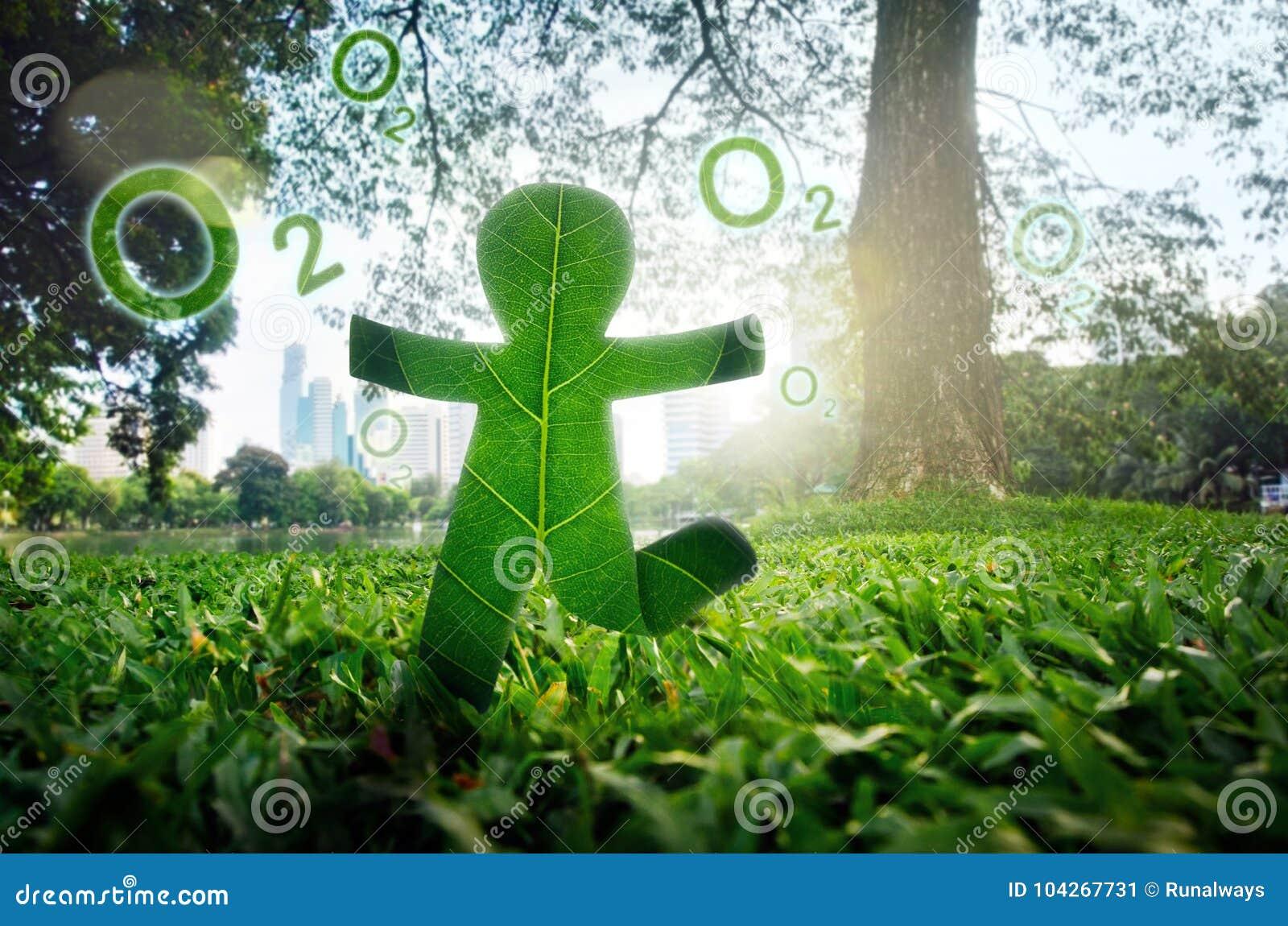 Environment to fresh air concept.