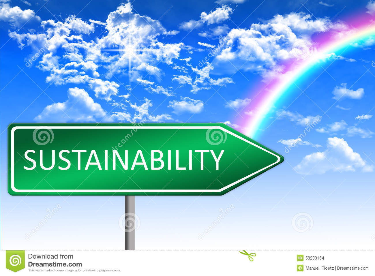 concept of sustainability The idea of sustainability stems from the concept of sustainable development which became common language at the world's first earth summit in rio in 1992 the original definition of sustainable development is usually considered to be.