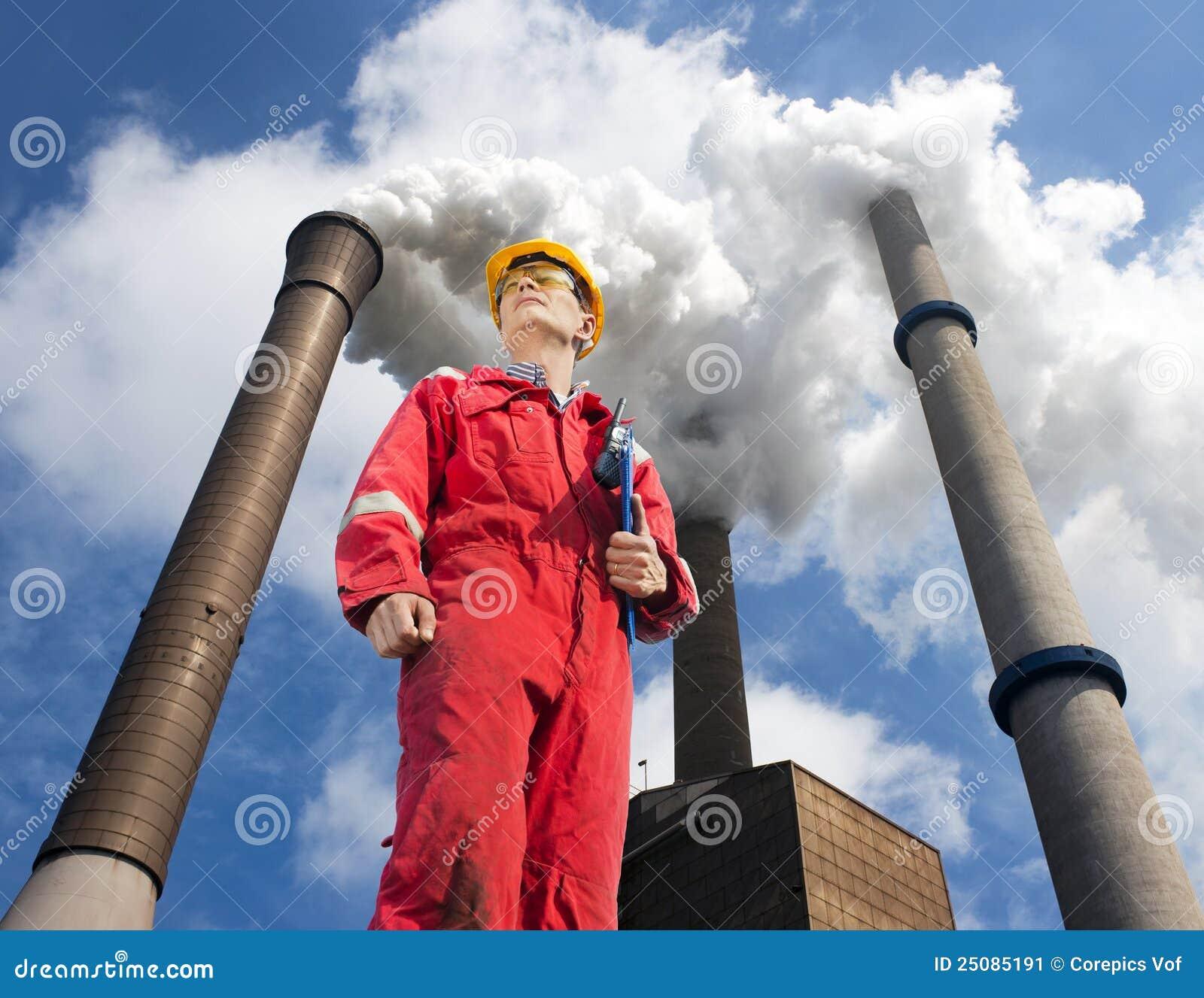 environmental engineering stock image