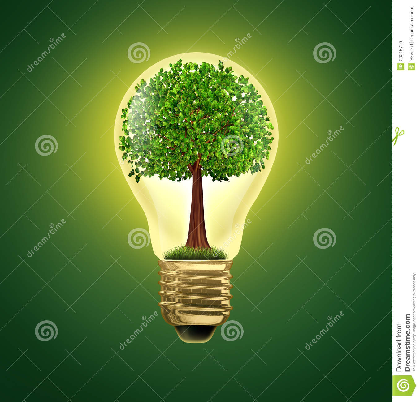 environmental ideas stock photo