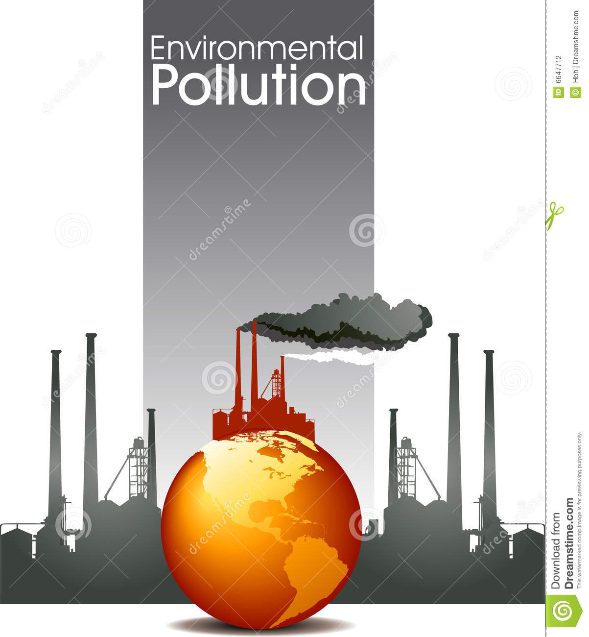 how pollution destroys our environment
