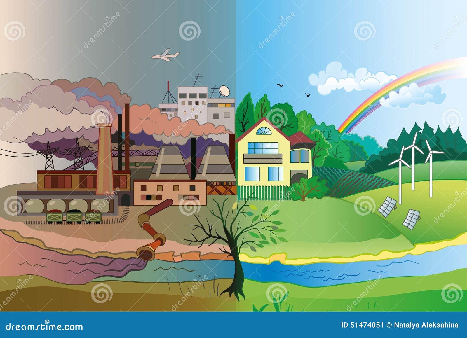 Рисунки по загрязненной среде