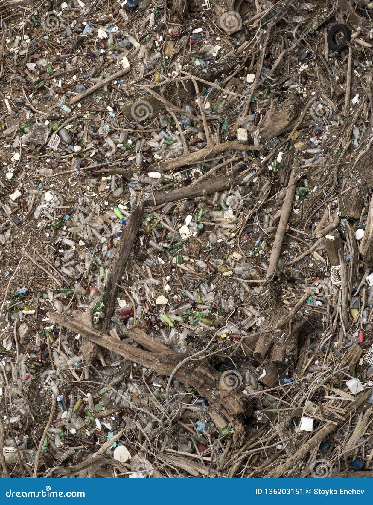 Environnement fortement pollué